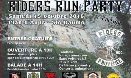 Riders Run Party
