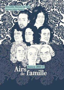 Ensemble Baroque de Nice – Airs de famille