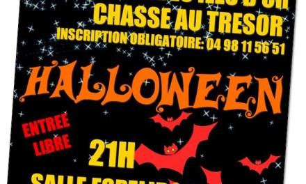 Gassin fête Halloween