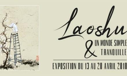 Exposition Laoshu au Musée des Arts Asiatiques du 13 au 20 avril 2018