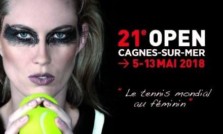 Open de Cagnes-sur-Mer du 05 au 13 mai 2018