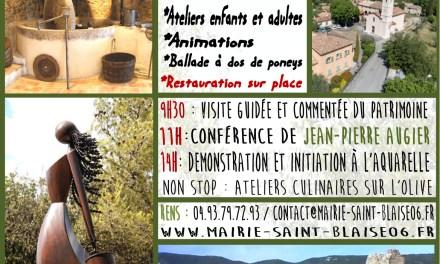 Saint-Blaise fête de patrimoine