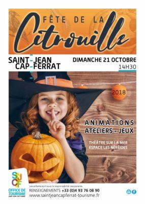 Fête de la CiTrouille à Saint-Jean-Cap-Ferrat