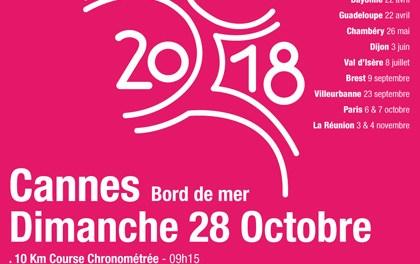 Course Odysséa 2018 à Cannes