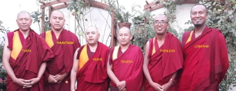 Les moines Tibétains du Ladakh à Menton