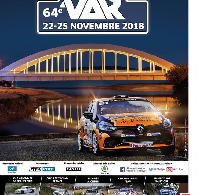 Le 64e Rallye & 34ème Rallye Historique du Var