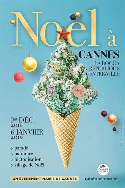 Noël 2018 à Cannes