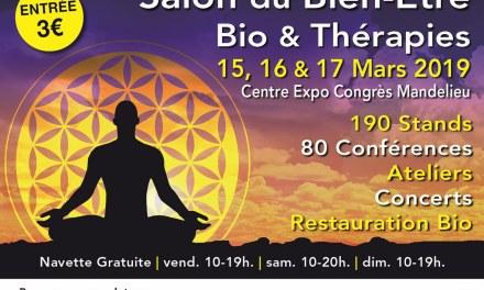 Salon du Bien-être, Bio & Thérapies  Mandelieu
