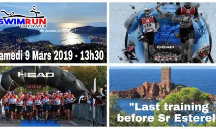 "Swimrun Côte d'Azur ""Last Training Before SR Esterel"""
