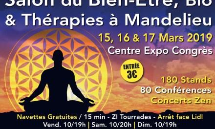 Salon du Bien Être, Bio et Thérapies de Mandelieu