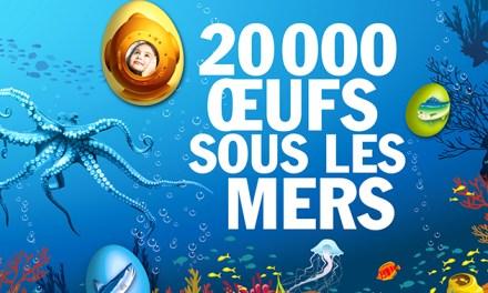 20 000 œufs sous les mers à Monaco