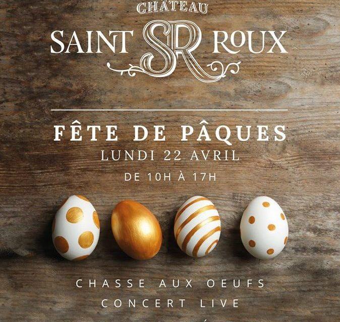 Chasse aux œufs au Château Saint-Roux
