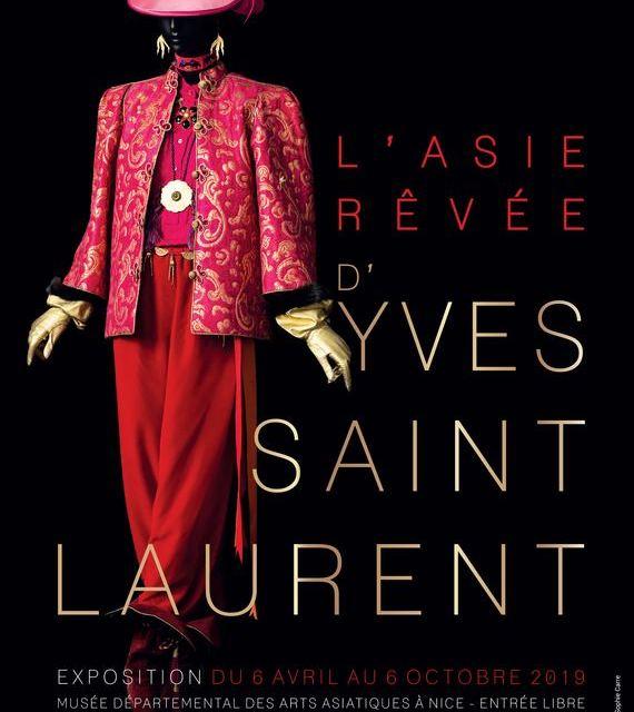 L'Asie rêvée d'Yves Saint Laurent à Nice