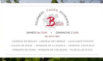 Journées Caves ouvertes à Bellet