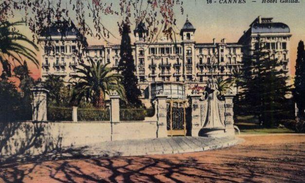 Parcours pédestre à Cannes. Quartier Montfleury