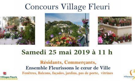 Concours Village Fleuri à Villeneuve-Loubet