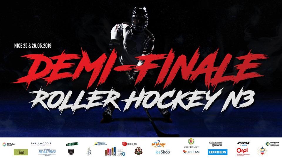 """Demi-finale de Roller Hockey avec """"les Nounours"""""""