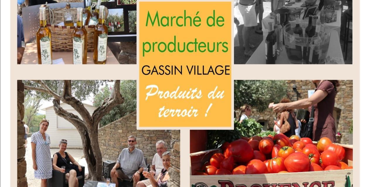 Marché de Producteurs et Produits du Terroir à Gassin