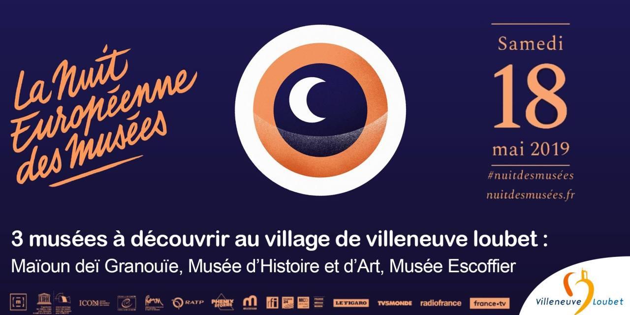 Nuit des Musées à Villeneuve-Loubet