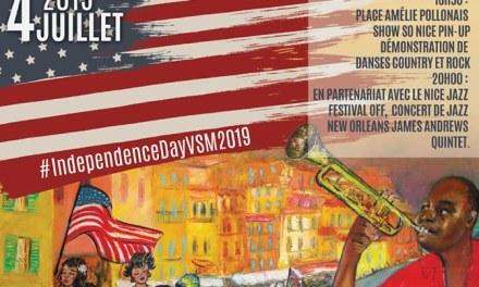 Independence Day 2019 à Villefranche-sur-Mer