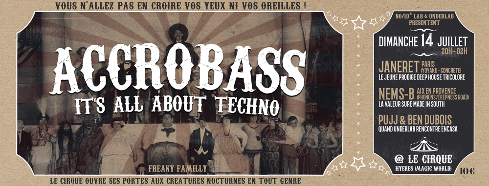 Accrobass _ It's all about techno