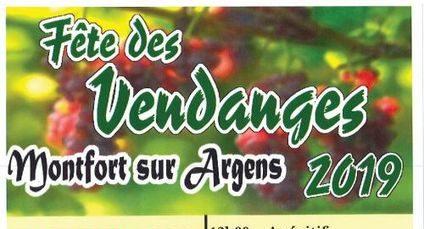 Fête des vendanges à Montfort-sur-Argens