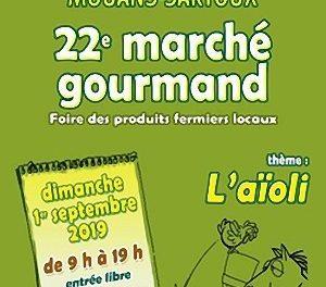 22ème marché gourmand de Mouans-Sartoux
