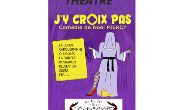 Soirée théâtre à Nans-les-Pins