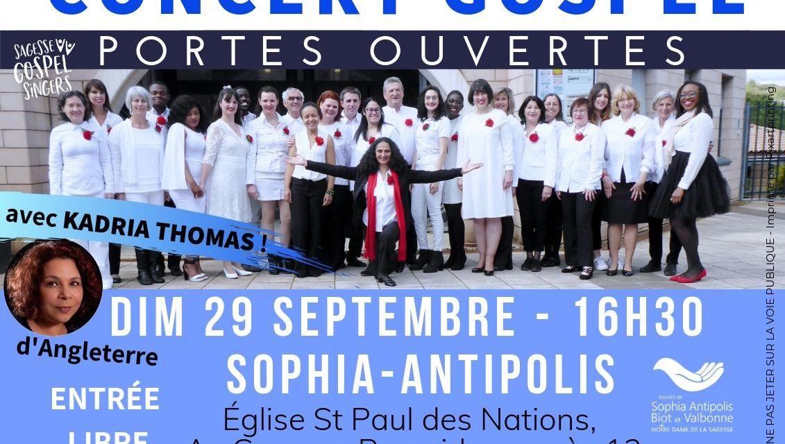 CONCERT gratuit Sagesse Gospel Singers
