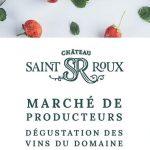 Marché des producteurs à Saint-Roux