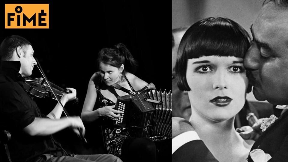 Ciné-Concert – Journal d'une fille perdue / Baltazar Montanaro et Sophie Cavez