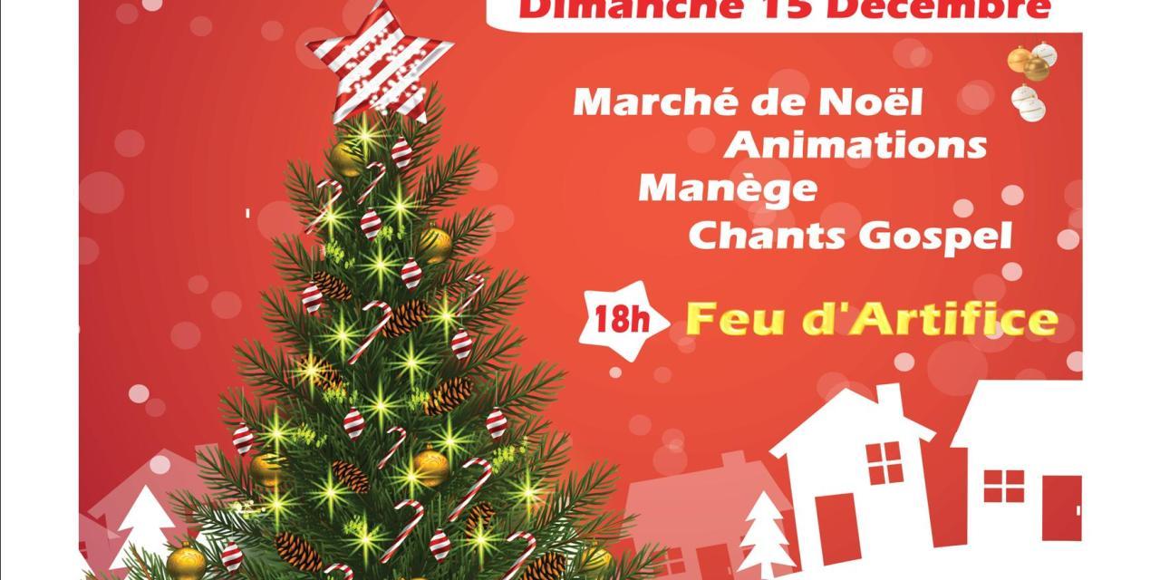 Marché de Noel à Gassin