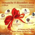 Concert Caritatif de Noël à Cannes