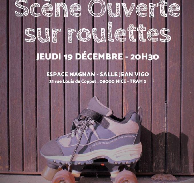 SCÈNE OUVERTE SUR ROULETTES Méd'Arts Association