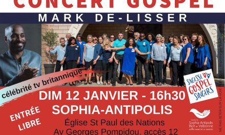 Concert Gospel à Sophia-Antipolis