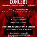Concert des Choralines 06 avec Amy Blake