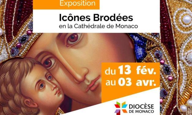 Exposition d'Icônes Brodées à Monaco