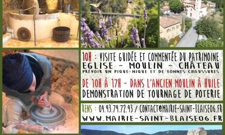 Visite commentée du patrimoine Saint-Blaisois