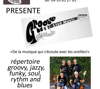 """Concert """"Groove Attitude"""" à l'Attrait Mousse"""