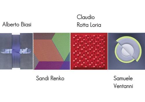 Alberto Biasi, Sandi Renko, Claudio Rotta Loria etSamuele Ventanni – Structures visuelles d'aujourd'hui