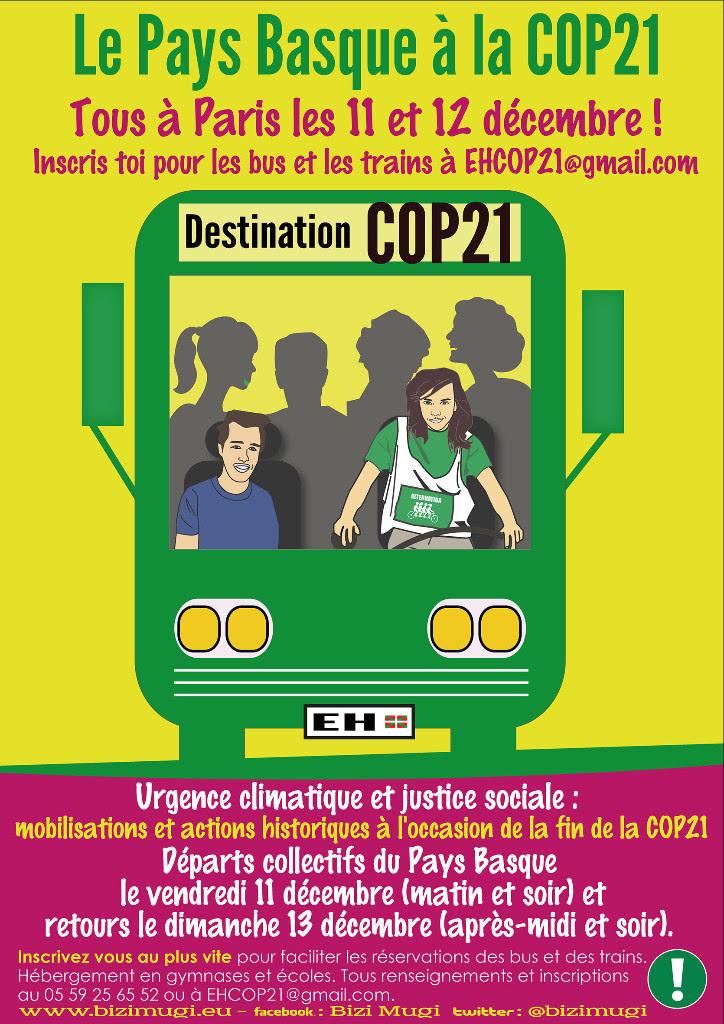 Pays Basque COP21 :
