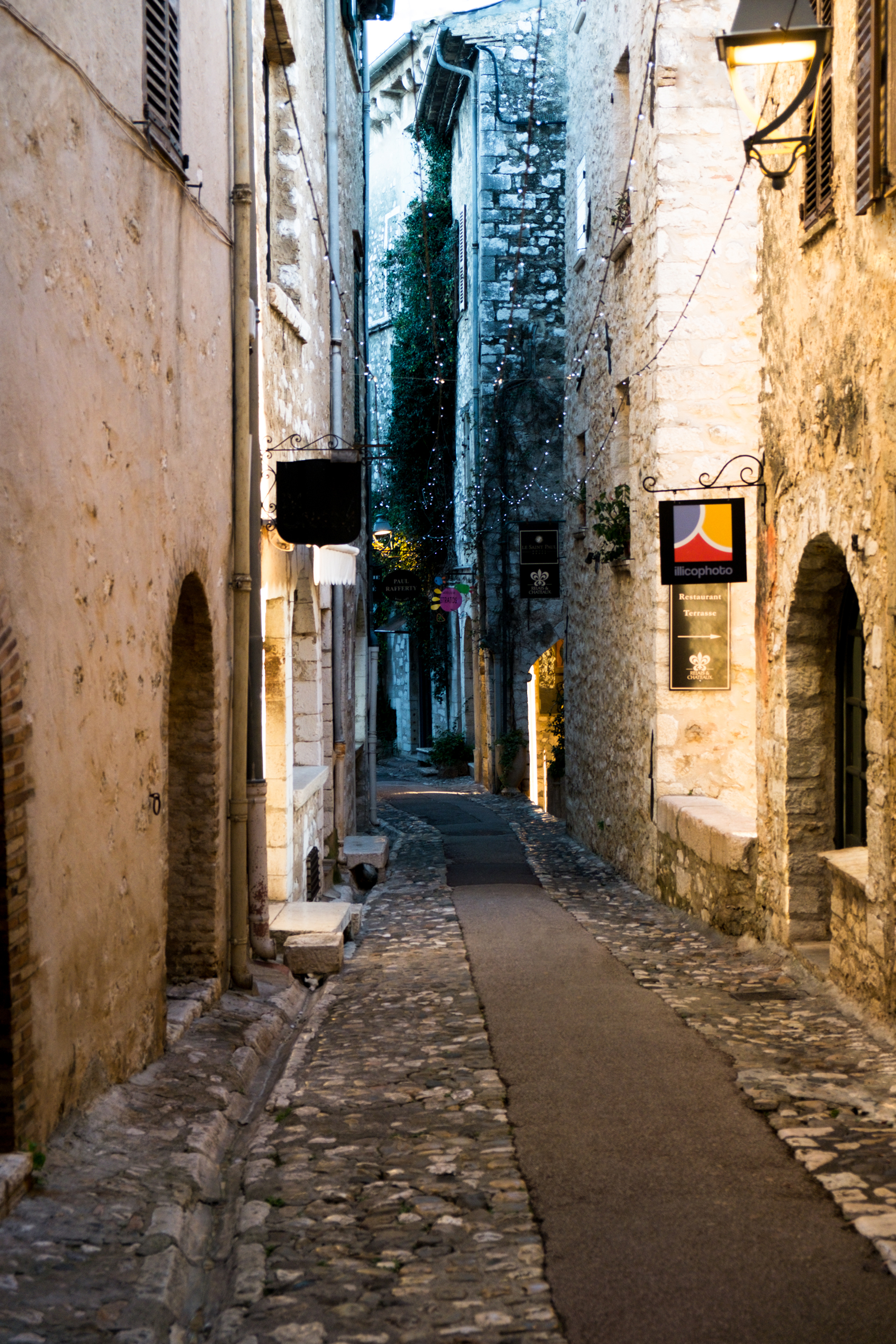 eine Gasse in St. Paul de Vence