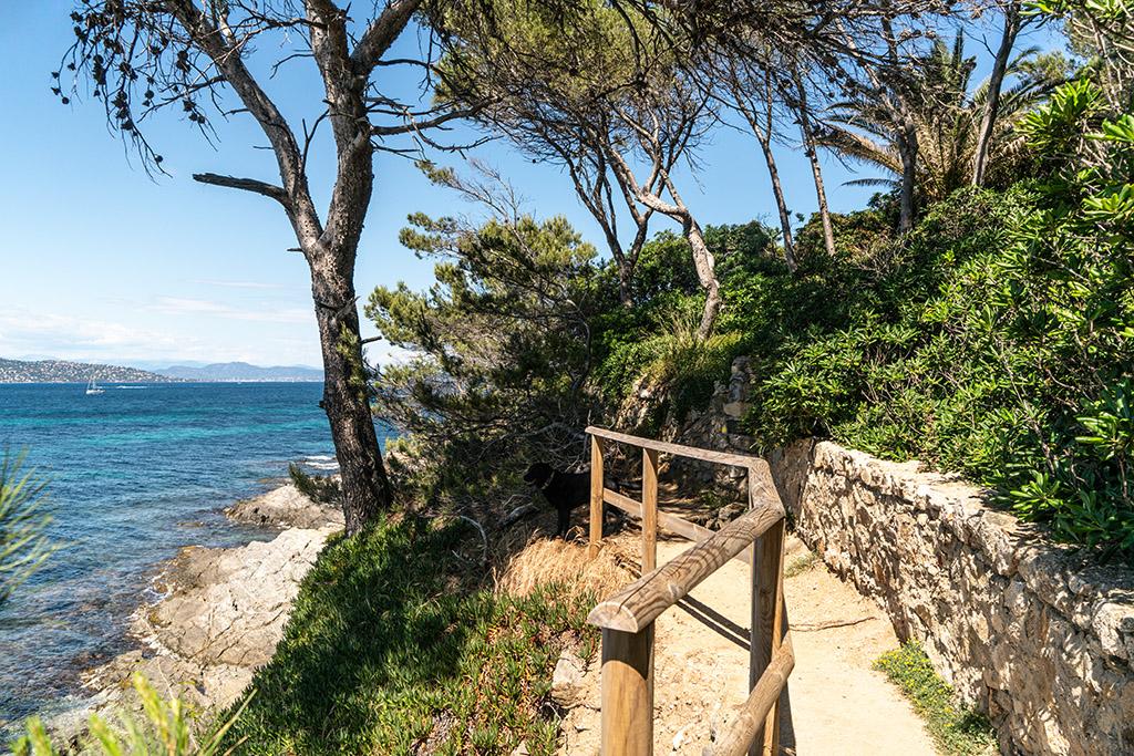 Der Küstenwanderweg hinter Saint Tropez