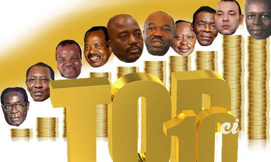 Le top 10 des présidents africains les plus riches | Cotedivoire.News