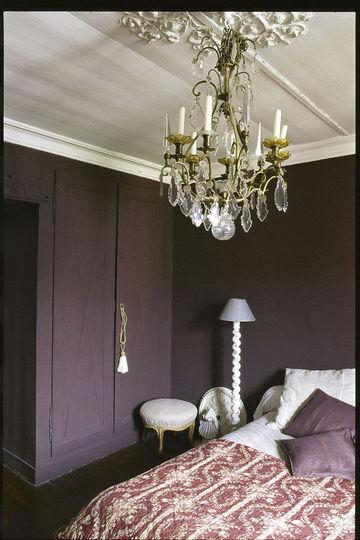 Dco Du Violet Pour Une Chambre Chic En 7 Photos Ct