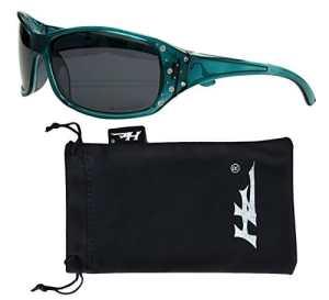 Hornz Lunette de soleil – Femme – Turquoise –