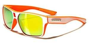 Biohazard Lunettes de Soleil – Mode – Sport – Cyclisme – Ski – Vtt – Running – Moto / Mod. Meribel Orange