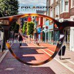 Carfia Lunettes de Soleil Femme Polarisées Mode Rétro Vintage la Protection UV 400 pour Conduire Voyager (Largeur des Verres 46 mm pour femme, monture: écaille, verres: vert)