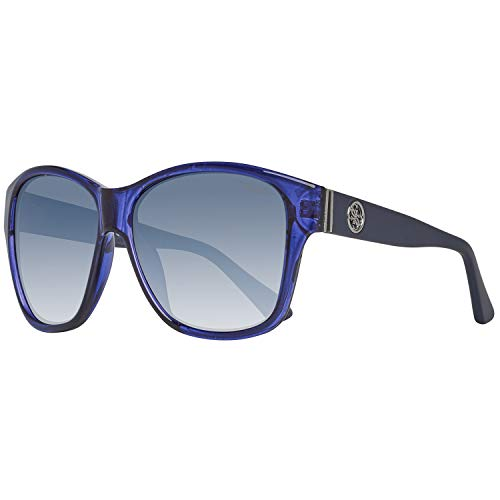 Guess Sun GU7412 90X-59-13-135 Montures de lunettes, Bleu (Blue), 59 Femme