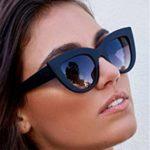 FNNNG – Lunette de soleil – Femme Noir Black&gradient Grey Large
